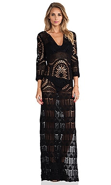 Lisa Maree London Fiction Dress in Black