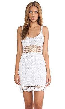 Lisa Maree The Left Turn Dress in Creme Fraiche