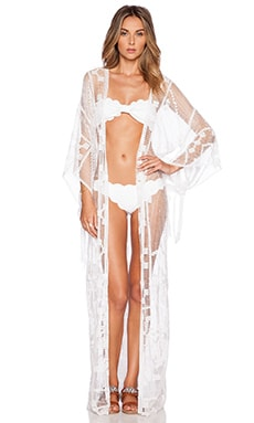 Lisa Maree The Same Scene Kimono in White