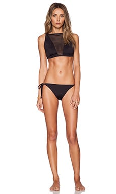 Lisa Maree The Open Door Bikini Set in Black