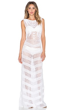 Lisa Maree The Fairest Pair Maxi Dress in White