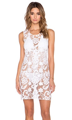 Lisa Maree That Sweet Sound Mini Dress in White