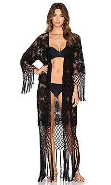 Lisa Maree Lucid Love Robe in Black