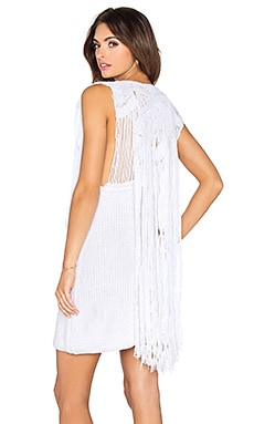Lisa Maree Deep Down Dress in White