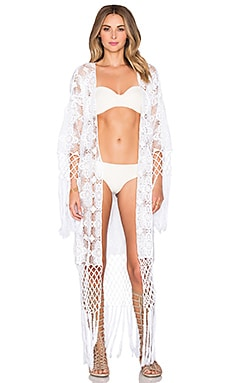 Lisa Maree Lucid Love Robe in White