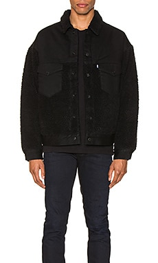 CHAQUETA OVERSIZED SHERPA TRUCKER LEVI'S: Made & Crafted $158