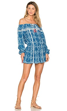 Makena Mini Dress in Blue