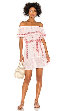 Jemari Off Shoulder Ruffle Dress Lemlem $127