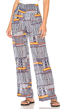 Kente Smocked Beach Pant Lemlem $170 Collections