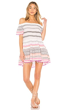 Платье с открытыми плечами kal - Lemlem