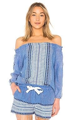 Блуза с открытыми плечами izara - Lemlem