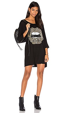 Milly Oversized Dress in Black