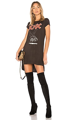 Mirabella ACDC T-Shirt Dress in Fa