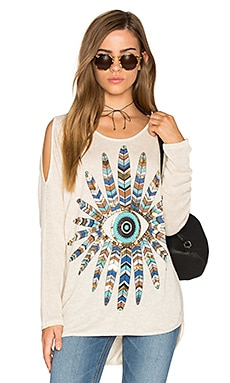 Reign Open Shoulder Sweater