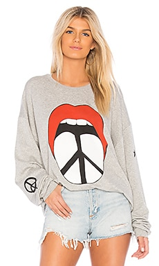 Babbs Boyfriend Sweatshirt Lauren Moshi $150 BEST SELLER