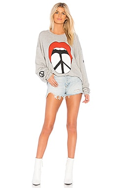 Lauren Moshi Babbs Boyfriend Sweatshirt On sale