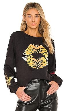 Sierra Tiger Lip Sweatshirt Lauren Moshi $165