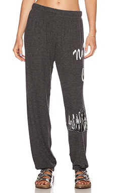 Lauren Moshi NYC Girl Tanzy Sweatpant in Black