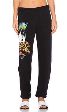 Lauren Moshi Tanzy Punk Daffy Sweatpant in Aged Black Sulfur