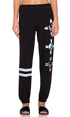 Lauren Moshi Tanzy Elements Long Pant in Jet Black