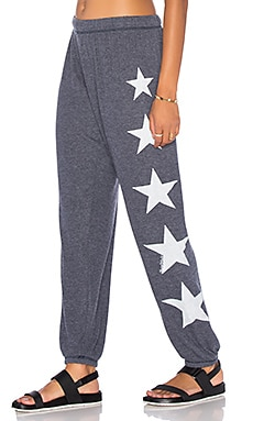 Tanzy Sweatpant in Navy