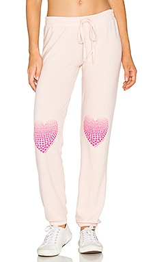 Willow Sweatpant in Pink Champagne