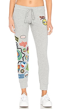 Kizzy Sweatpant in Heather Grey