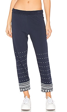 Gia Long Sweatpant in Navy Storm
