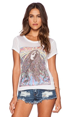 Lauren Moshi Peace & Love Girl Amelie Tee in White