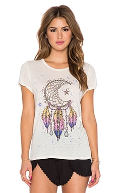 Lauren Moshi Edda Moon Dreamcatcher Tee in Natural
