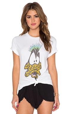 Lauren Moshi Capri Punk Daffy Tee in White