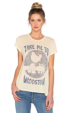 Edda Woodstock Tee in Custard