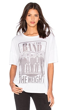 Lauren Moshi Liberty The Band Tee in White