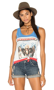 Lauren Moshi Caprise Tank in Aerosmith Dream On Square
