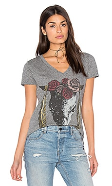 Emmalyn V-Neck Tee