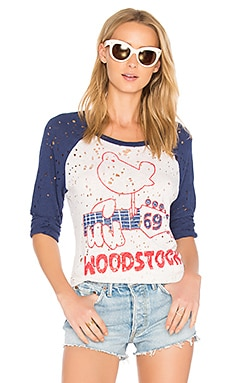 Maglan Woodstock Raglan in Scour & Blue Magic