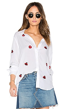 Paula Button Up Shirt in Weiß