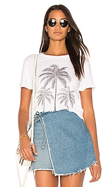 Evie Palm Crop Tee