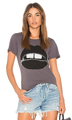 Croft Vintage Zipper Mouth Tee