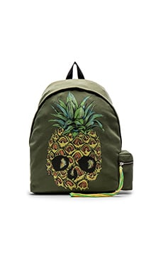 Lauren Moshi Pineapple Backpack in Military