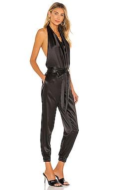 Silk Open Back Jumpsuit LNA $198