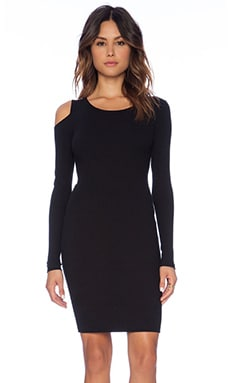 LNA Jasmine Dress in Black