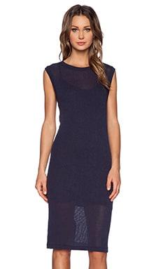 LNA Tropez Dress in Azulon