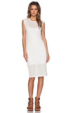 LNA Tropez Dress in Scour