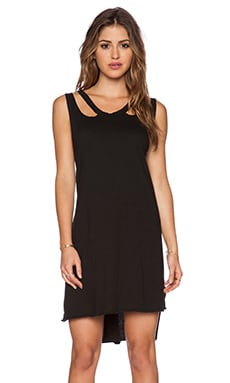 LNA Aura Dress in Black