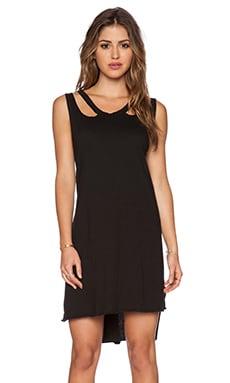 LNA Aura Dress in Black
