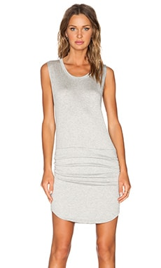 LNA Levy Dress in Heather Grey