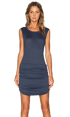 LNA Levy Dress in Indigo