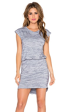 LNA Delta Dress in Heather Blue