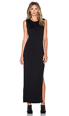 LNA Aldridge Dress in Black